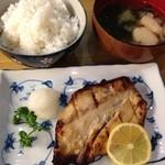 とんかつ 安右衛門 - 鰆の味噌漬け焼き定食