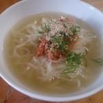 ホルモンえびす - 北海道から届くタピオカ冷麺