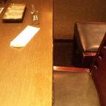 ドラゴンカルビ - 4人掛けテーブル