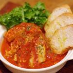 バー コットンクラブ - 牛の胃袋・トリッパのトマト煮 バケット添え