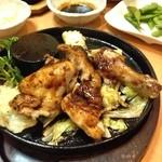 24334147 - 鶏の半身焼き