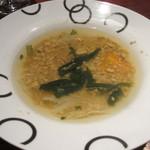てんしん堂 - カニのスープ