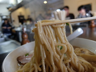 浜田山 - 中太麺ストレートはもっちり美味しい!
