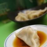 台湾料理 ごとう - 唐辛子ニンニク酢醤油で