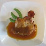 es - 若鶏のオーブン焼き ジンジャーソース