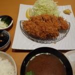はせ川 - ヒレカツ定食(180g)