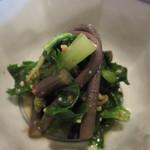 きんとき - 畑菜、蕨、おひたし