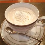 珈琲館 - ウィンナーコーヒー
