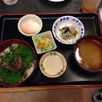 いちばん - 2013.11  ネギトロ丼 ¥700