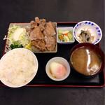 いちばん - 2013.11  鶏の唐揚げ定食¥550