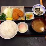 いちばん - 2013.11  ひれかつ定食¥650 ライス大盛無料