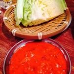 24343209 - 肉味噌キャベツ