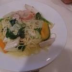 24345653 - 野菜たっぷりアウラ パスタ