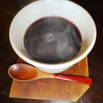 あんから庵 - 黒豆茶ホット