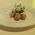 バワリー・キッチン - ツブ貝とウズラの卵