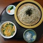 Kikyou - 2013年11月24日    ミニニラ玉丼セット900円