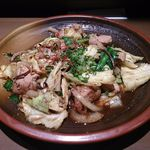 24347832 - 博多モツ野菜炒め