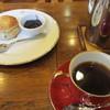 珈琲音 - 料理写真:珈琲とスコーン
