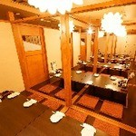 全席個室居酒屋 若の台所~こだわり野菜~ - 気の合う仲間と個室で宴会!人数にあわせて大小さまざまな個室ございます。