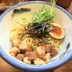 AFURI - 【'14/02/18 撮影】つけ麺(並盛) 柚子露 900円 のつけ麺