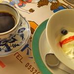 レストラン ボルドー - 【2014.2】 コーヒーとデザート