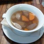 ナチュラルレストラン&デリ みどりえ - ランチのスープ