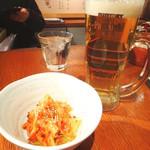 らー麺 藤平 - 生ビールとキムチ