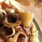 cafe&Live 8JO - 和風ハンバーグ、しょうがの効いた和風のだしと大根おろしの相性が抜群!
