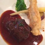 ボン・マリアージュ - 牛ホホ肉の赤ワイン煮込み