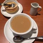 トラットリア ラ・スカルペッタ - コーヒー お砂糖の出し方が素敵