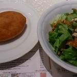 マトリョーシカ - サラダとピロシキ