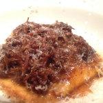 24352050 - 猪バラ肉の赤ワイン煮込みローズマリーを練り込んだパッパルデッレ