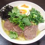 麺工房 武 - 牛塩味玉ラーメン(850円)