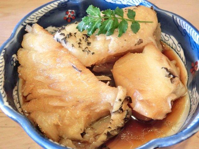 大衆割烹 三州屋 神田本店 - 銀むつあら煮 900円