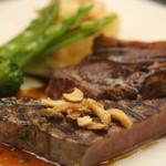 レストランラ・リューシュ - 牛ヒレのステーキ