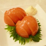 とり道楽 - 2014.2.10 冷しトマト