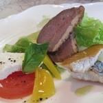 デルフィーノ - イルカランチ:前菜盛り合わせ