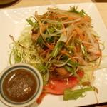 伊蔵 - チキングリルたっぷり野菜