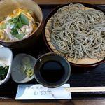 24356201 - 美桜鶏のミニ親子丼セット(2014/02/19撮影)