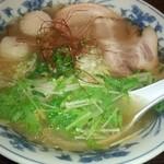 浦咲ラーメン駅前 - 南蛮海老ラーメン(塩)850円