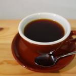 Cafe Beans - ワッフルセットのコーヒー