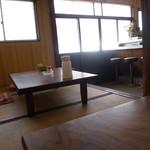 十円寿し - 昔ながらの座敷席です