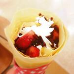 マリオンクレープ - 料理写真:いちごチョコクリーム(400円)