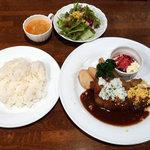 雅楽 - 牛肉のエスカロップ 800円