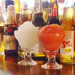 エルパンチョ - フローズンマルガリータやメキシカンビールなどお料理に合ったお酒を多数ご用意。