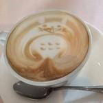 リストランテ ベツジン - 特別な日にしてくれたトトロのカフェラテ