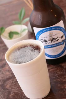 おおむろ軽食堂 - ビールのおいしい夏まであと少し