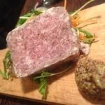 ペスカーラ - ペスカーラ特製のお肉のテリーヌ!¥650