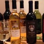 ペスカーラ - 多種ワインご用意してます。