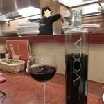 24365635 - <2014年2月> ビールの後は、イタリアのボトルワイン、3800円。お洒落なボトル、飲み易いワインです(^^♪